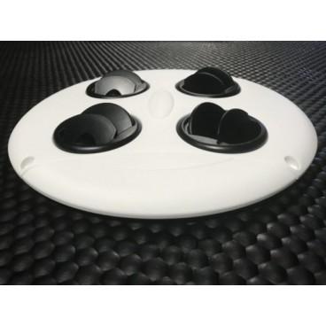 Slim Air skærm til hestetrailer til ventilator 12+24V (SIR02152002)