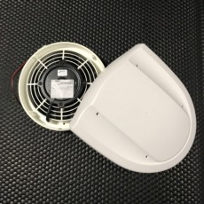Slim Air ventilator til hestetrailer 24V (SIR02303301) - ventilator slim air 24v frisk luft til dyretransport