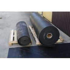 TDJ gummimåtte i rulle 180cm bred - 10mm tyk - pr m2