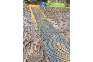 TDJ Heavymat - muddermåtte - enkeltstyk