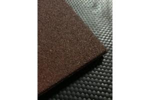 TDJ Gummiflise - stald - rødbrun - m2 (05624)