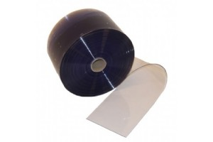 PVC rulle til bændelgardin/portgardin 20cm x 2mm