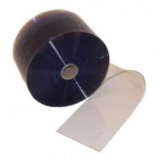 PVC-strips rulle til bændelgardin/portgardin 30 cm x 3mm.