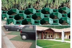 TDJ Græsfliser 60 m2 - Hel palle(billigere m2 pris)