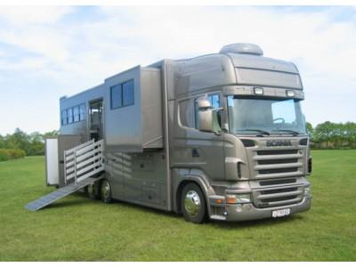 Opbygning af køretøjer til dyretransport